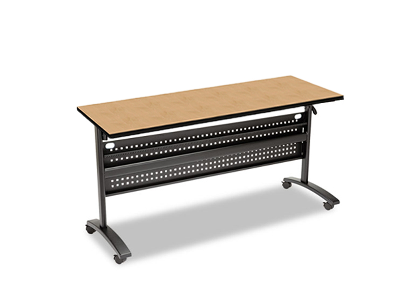 Nesting Conference Tables ~ Flip top nesting training table